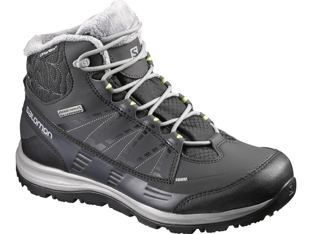 eb95568eda5f Salomon W s Kaïna CS WP 2 Shoes Black Asphalt Flashy-X - addnature.com